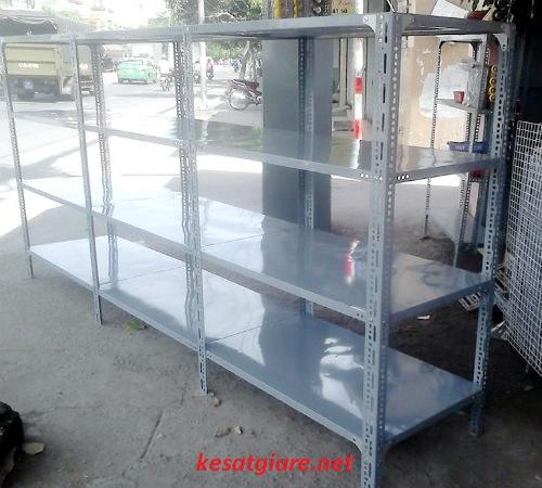 Kệ sắt lắp ghép chất lượng cao tại Hà Nội