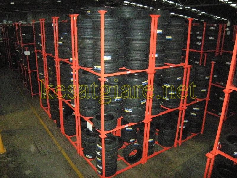 Kệ hạng nặng chứa đựng lốp xe 2