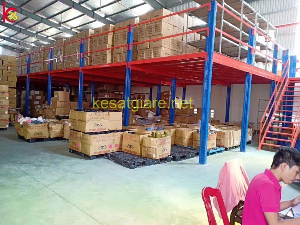 Kệ sàn lửng 3S chứa đựng hàng hóa